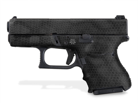Glock 27 Decal Grip - Digital Snakeskin