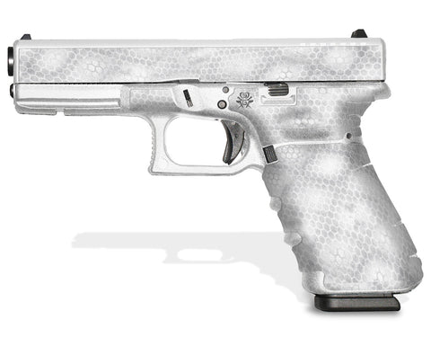 Glock 17 Gen 4 Decal Grip - Digital Snakeskin
