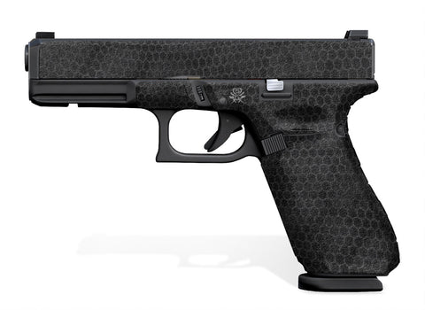 Glock 17 Gen 5 Decal Grip - Digital Snakeskin