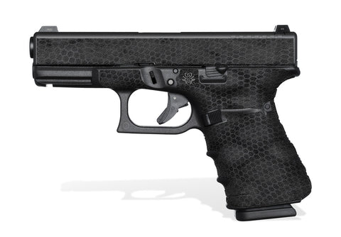 Glock 23 Gen 4 Grip-Tape Grips - Digital Snakeskin