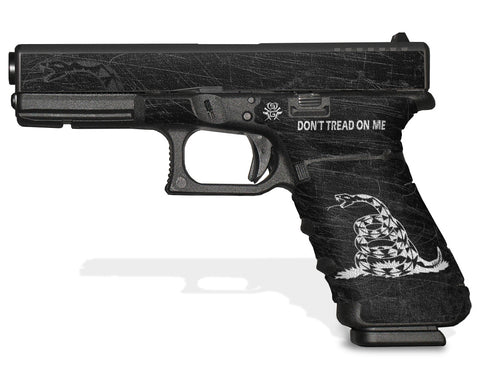 Glock 17 Gen 3 Decal Grip - Don't Tread on Me