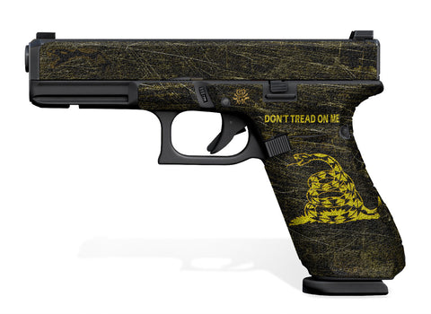 Glock 17 Gen 5 Decal Grip - Don't Tread On Me