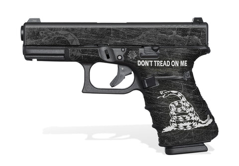 Glock 23 Gen 4 Grip-Tape Grips - Don't Tread on Me