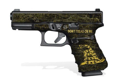 Glock 32 Gen4 Tactical Grip-Tape Graphics - Don't Tread on Me