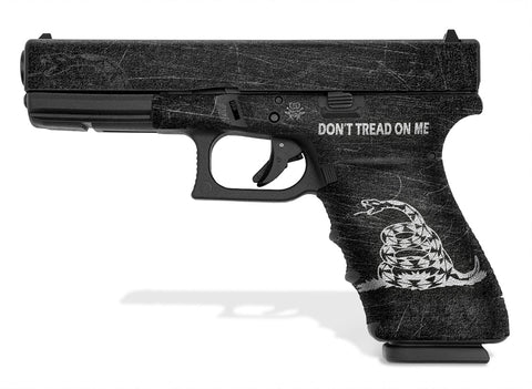 Glock 20 SF Decal Grip - Don't Tread On Me