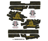Glock 26 Decal Grip - Don't Tread On Me