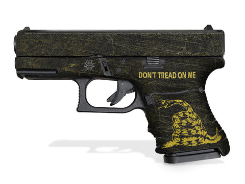 Glock 29SF Decal Grip - Don't Tread On Me