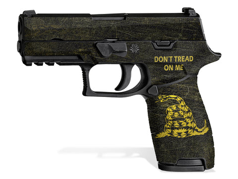 Decal Grip for Sig P320 Carry (2016+) Don't Tread On Me