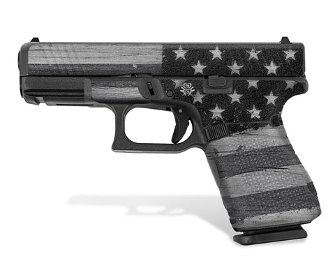 Gen 5 Glock 19 Decal Grip - Subdued