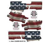 Glock 27 Decal Grip - Old Glory