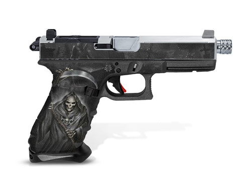 Glock 22 Gen 4 Decal Grip - Grim Reaper