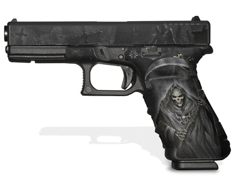 Glock 17 Gen3 Tactical Grip Graphics - Grim Reaper