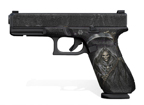 Glock 17 Gen 5 Decal Grip - Grim Reaper
