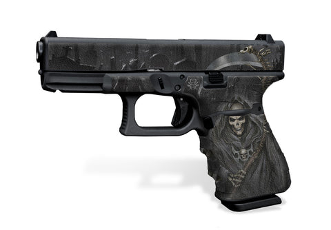 Glock 19 Gen3 Decal Grip - Grim Reaper
