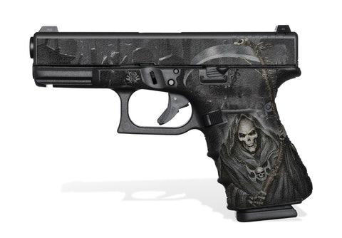 Glock 19 Gen4 Decal Grip - Grim Reaper