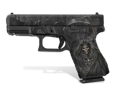 Glock 19 Gen5 Decal Grip - Grim Reaper