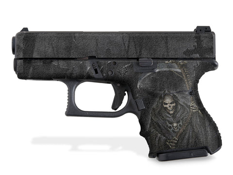 Glock 27 Decal Grip - Grim Reaper