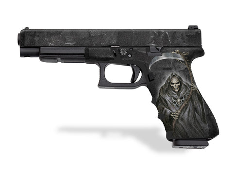 Glock 34 Decal Grip - Grim Reaper