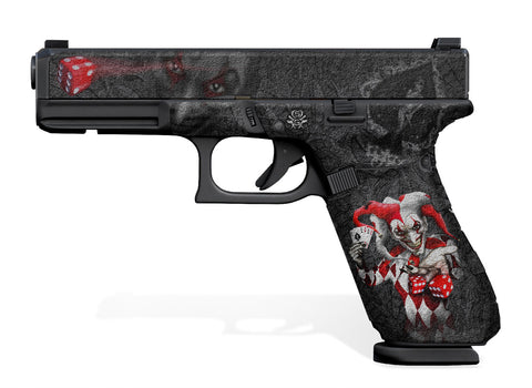 Glock 17 Gen 5 Decal Grip - The Joker