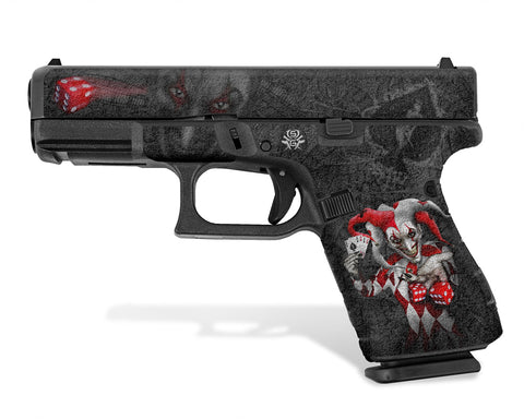 Glock 19 Gen5 Decal Grip - The Joker