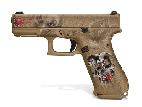 Glock 19X Decal Grip - The Joker