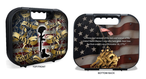 Glock Case Graphics Kit - Marine Corp Memorial