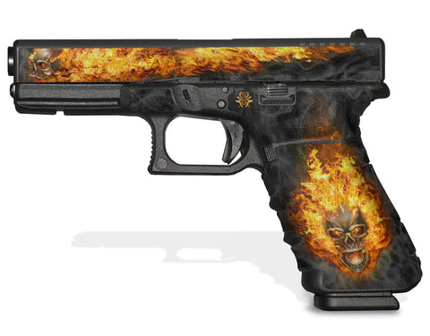 Glock 17 Gen 3 Decal Grip - NITRO