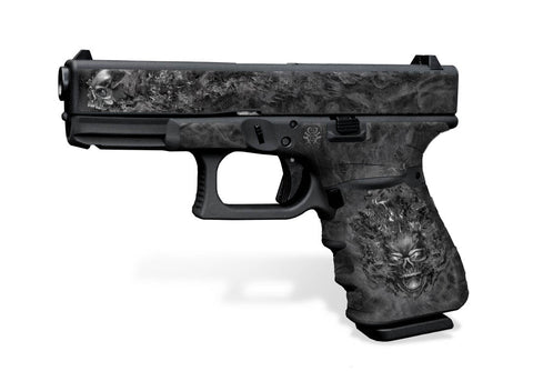 Glock 19 Gen3 Tactical Grip Graphics - NITRO