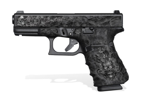 Glock 19 Gen4 Tactical Grip Graphics - NITRO