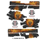 Glock 26 Decal Grip - NITRO