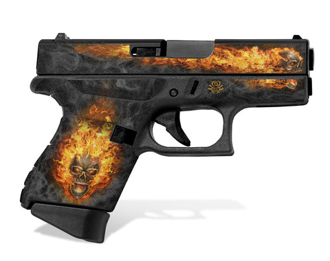 Glock 43 Tactical Grip Graphics - NITRO