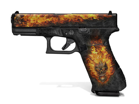 Glock 45 Decal Grip - Nitro