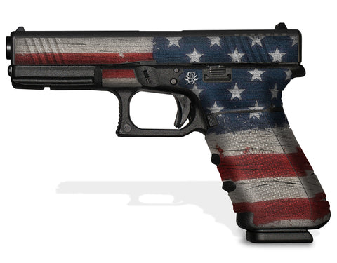 Glock 17 Gen 4 Decal Grip - Old Glory