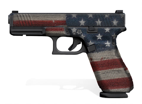 Glock 17 Decal Grip (Gen 5) Old Glory