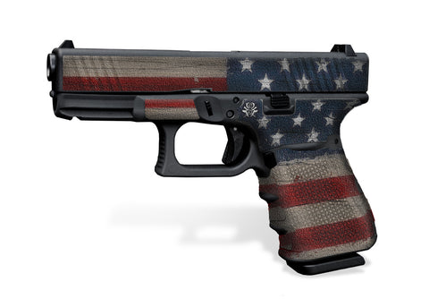 Glock 19 Decal Grip - Old Glory
