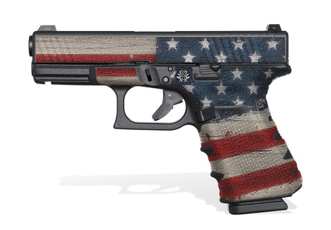 Glock 23 Gen 4 Decal Grip - Old Glory