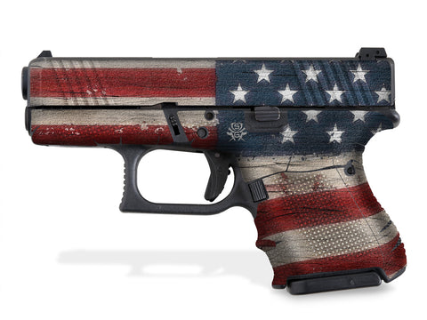 Glock 26 Decal Grip - Old Glory