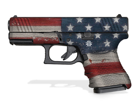 Glock 30SF Decal Grip - Old Glory