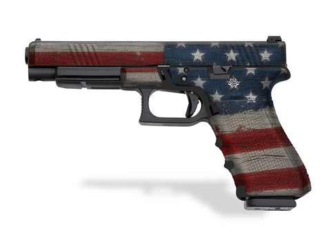 Glock 35 Decal Grip - Old Glory