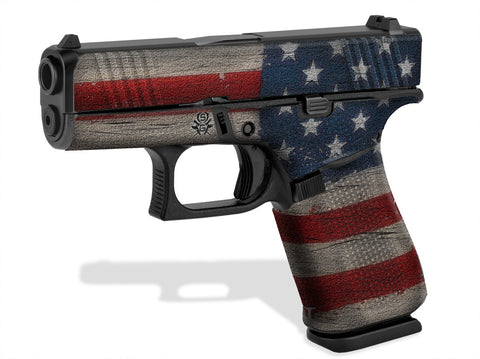 Glock 43X Decal Grip - Old Glory