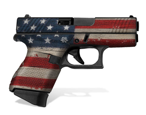Glock 43 Decal Grip - Old Glory
