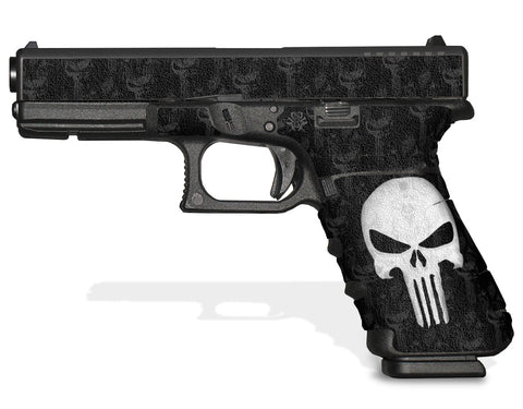 Glock 17 Gen 3 Decal Grip Graphics - The Punisher