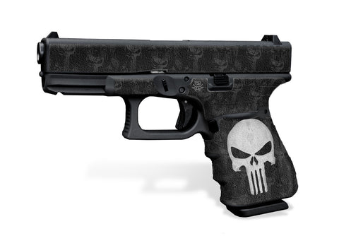 Glock 19 Gen 3 Decal Grip - The Punisher