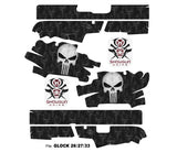 Glock 33 Decal Grip - Punisher