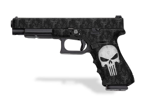 Glock 35 Decal Grip - The Punisher