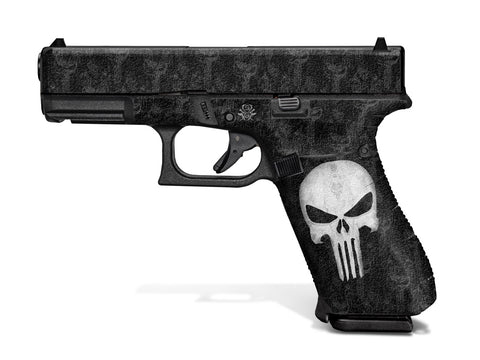Glock 45 Decal Grip - Punisher