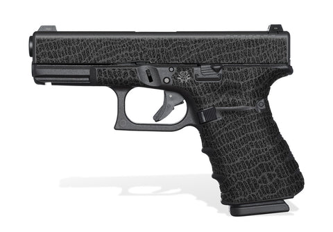 Glock 19 Gen 4 Decal Grip - Reptillian