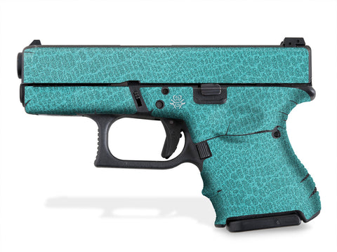 Glock 26 Decal Grip - Reptilian