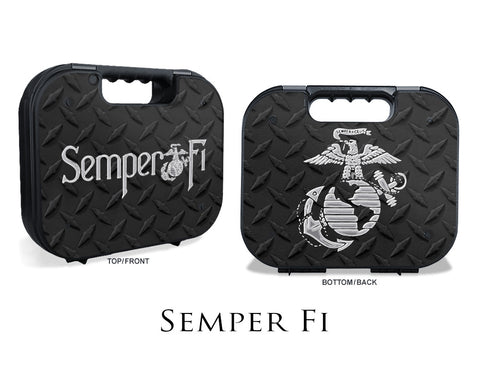 Glock Case Graphics Kit - Semper Fi