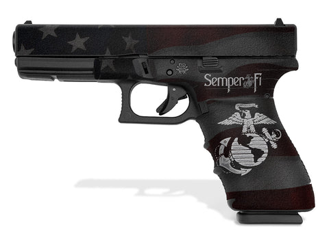 Glock 21 SF Decal Grip - Semper Fi